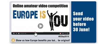 "Video Competition ""Why EUROPE IS YOU?"".   Be smart and use your smartphone!"